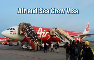 Air and Sea Crew Visa