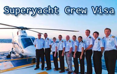 Superyacht Crew Visa