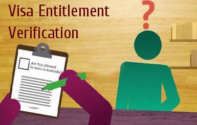 Visa Entitlement Verification