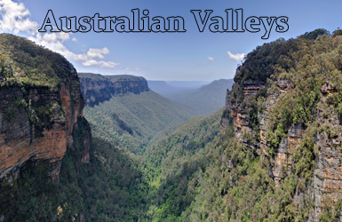 List of Valleys of Australia