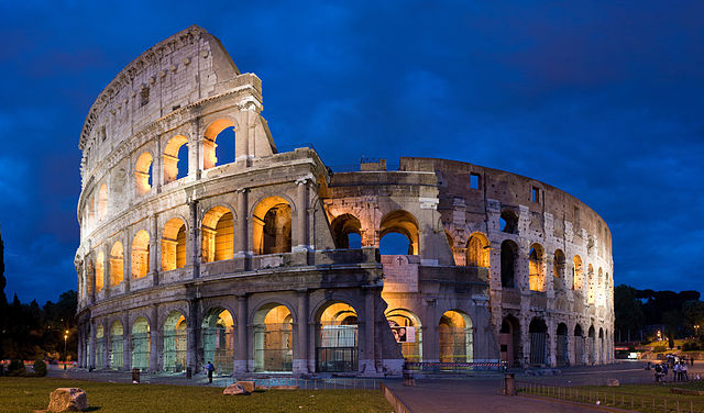 The Roman Colosseum - Rome, Italy