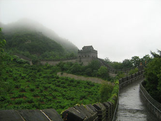 Great Wall of China at Dandong