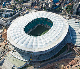 Itaipava Arena Fonte Nova Stadiums
