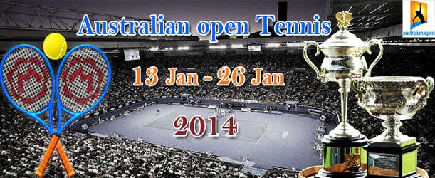 Australian Open Tennis Schedule